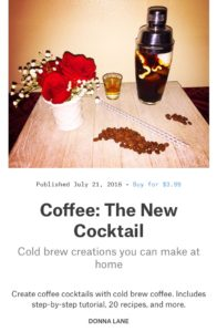 Coffee: The New Cocktail